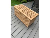IKEA Wooden toy / blanket storage box