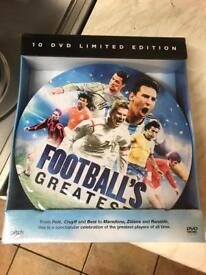 Footballs greatest DVD