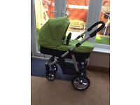 Mee go pushchair travel system with car seat and isofix base