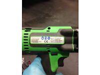 Snap on impact gun 18v cteu8850g green