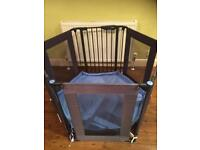 Lindam safe and secure playpen and room divider