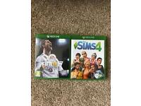 The Sims 4 and FIFA 18 on Xbox One (£15 each)