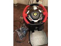 Thrustmaster Ferrari 458 Spider wheel for Xbox One
