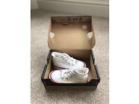 Converse - White Hi tops Infant size 4