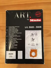 Miele Art Dustbags - unopened box of 5
