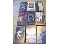 A Bundle of Music Video Cassettes