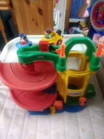 Fisher price garage