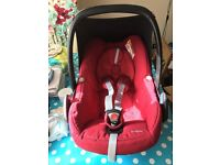 Maxi-Cosi Pebble car seat Burgundy