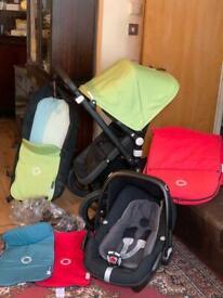 Bugaboo cameleon 3 travel system. Pram. Buggy . Pushchair. Stroller