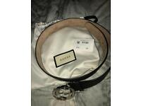 Brown Gucci belt