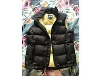 Ladies XS brown North Face bodywarmer - in great condition