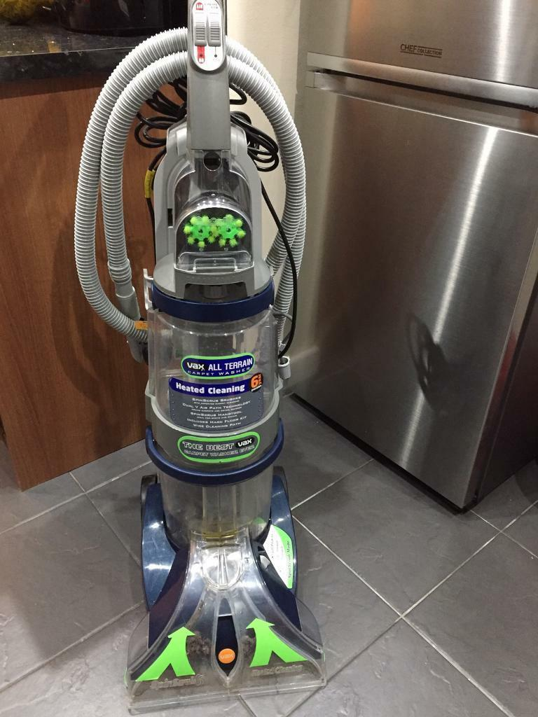 Vax V-125A All Terrain Upright Carpet Washer from pet free house