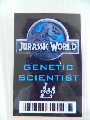 VIE PROP - ID/Security Badges (Jurassic World - Scientist) (Movie World Halloween)