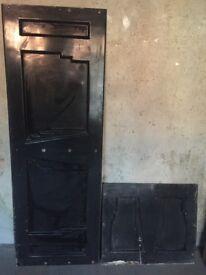 Vintage Pressed Steel Bath Panel
