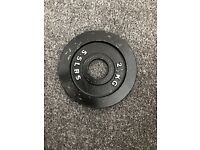 Body power Cast Iron Olympic Plates