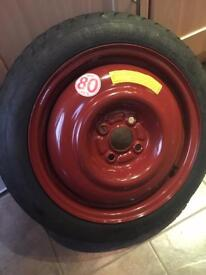 Honda Civic 2005 Space saver spare wheel