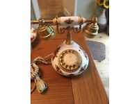 Royal Albert Old Country Rose Telephone