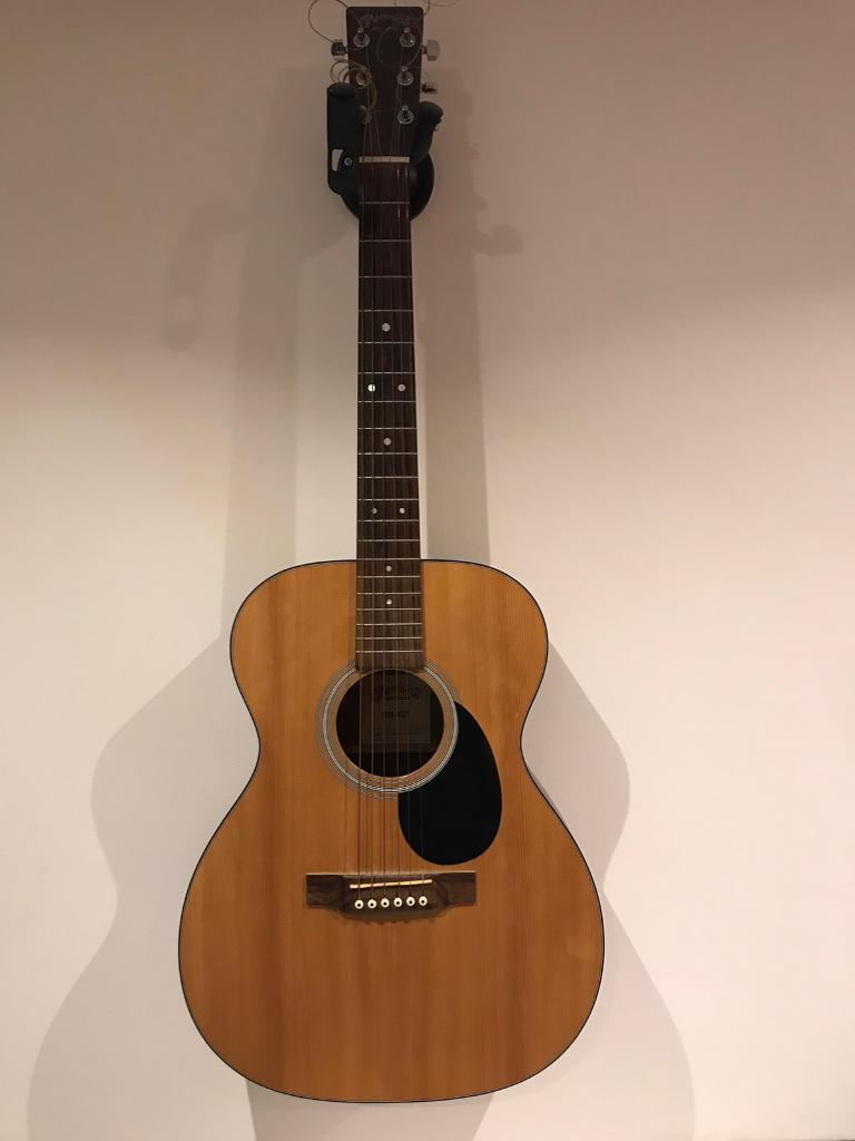 Martin Co Acoustic Guitar Om 1gt W Hardcase In Greenfield