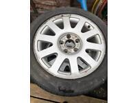 Audi VW Skoda Seat 4x alloys wheels tyres