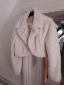 Ladies imitation fur jkt & 2 coats