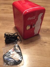 Mini Coca-Cola fridge
