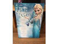 Large Frozen Canvas