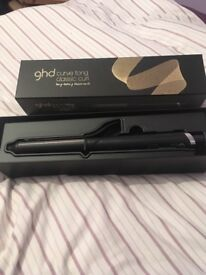 Hardly used ghd curve tong - classic curl