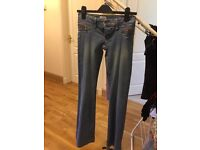 Topshop jeans size 6, boot cut - very good condition