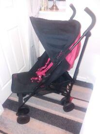 Maclaren pushchair buggy stroller excellent condition