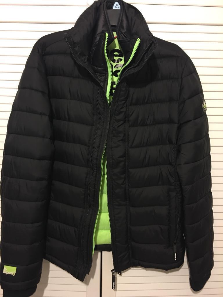Men's Black Superdry Jacket