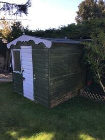 6ft x 6ft Wendy house or Garden shed
