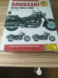 Kawasaki Vulcan 1500/1600 models Haynes Manual