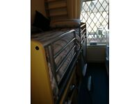 Large solid cabin bed
