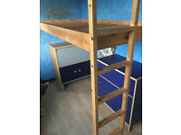 Bed - Built in bed frame - open to offers