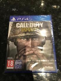 Call of Duty WW2 World War 2 on PS4 Playstation 4