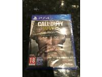 Call of Duty WW2 World War 2 on PS4 Playstation 4