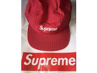 Supreme Hat Box Logo Red