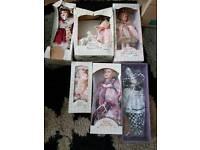 Leonardo collection porcelain dolls