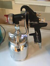 Iwata primer spray gun 1.8 setup only used twice so as new