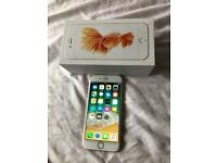 IPhone 6s rose gold boxed unlocked better than IPhone 6