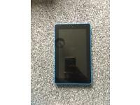 Amazon kindle fire7 in blue
