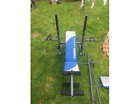 York Fitness Multi Gym - Bench, Pull Down, Leg Curl/Extension, Preacher Curl, Pec Deck