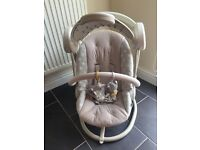Mamas and Papas Swinging Chair from smoke and pet free home