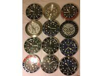 Rolex Wall clock 35 x 35cm