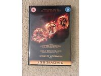3 hunger games dvd series