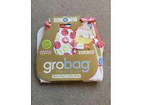 Grobag 1 tog 0-6 months sleeping bag, never used.