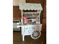 Sweet trolley - for weddings and parties
