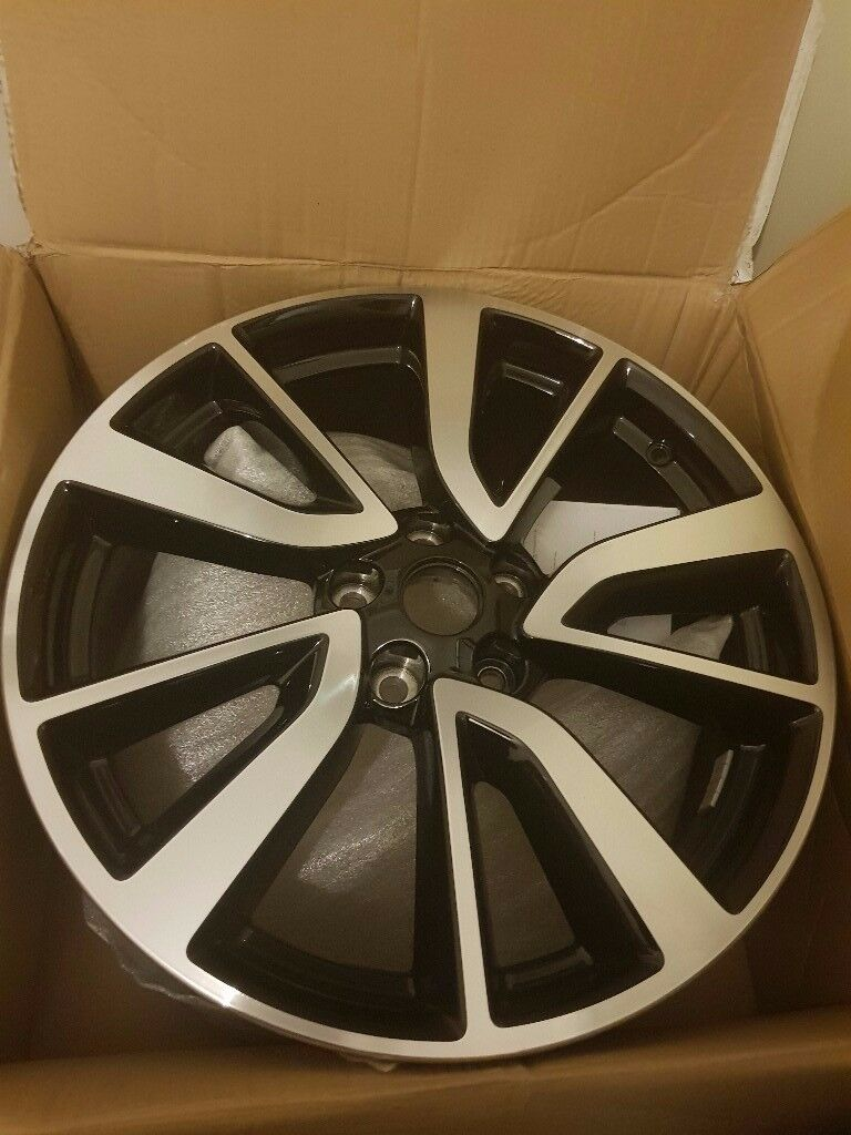 Nissan Qashqai X-Trail 19 Inch Diamond Cut Alloy Wheels Rims Set Of 4 VGC
