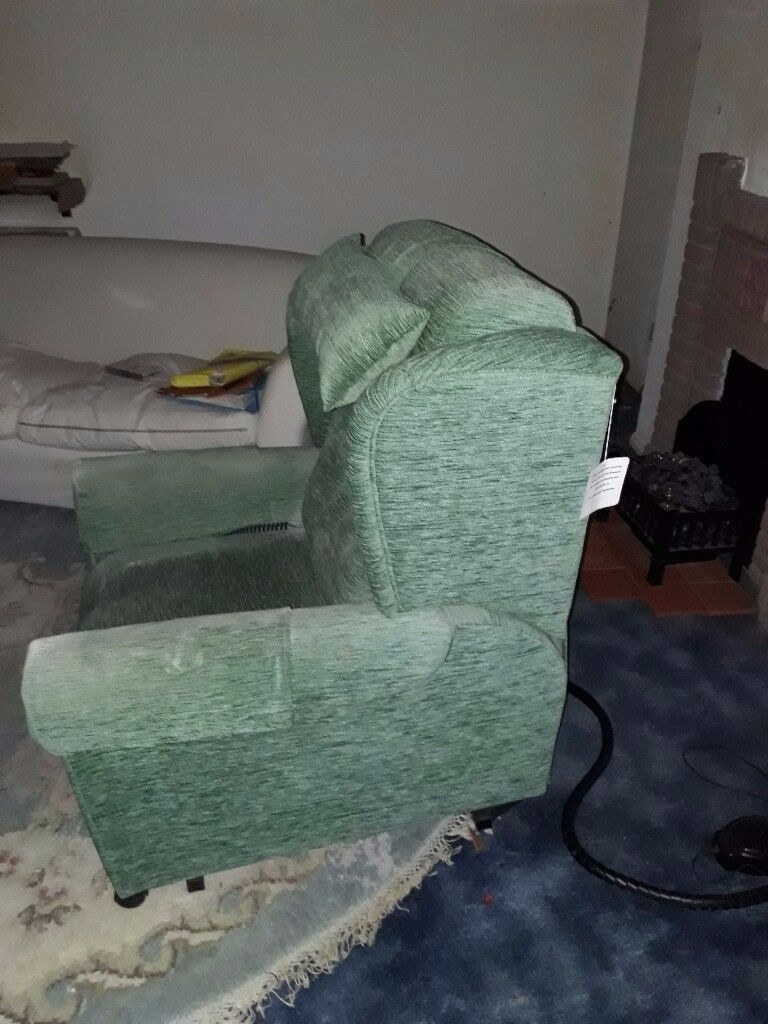 Hardly used operated, support chair. Has Wave and pulse vibration features.