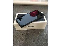 APPLE IPHONE 7- 128GB- JET BLACK- UNLOCKED- BOXED-